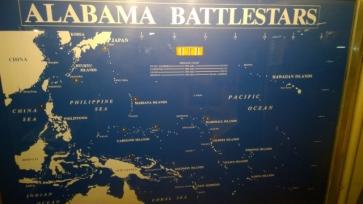 Ship's 9 Battlestar locations including Truk