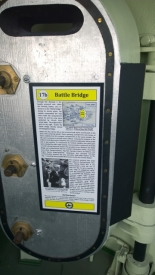 Battle Bridge armored door