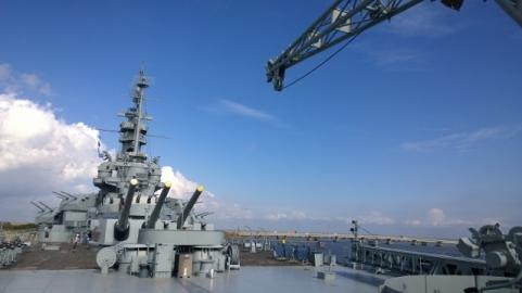 Ship Aft and Aircraft arm