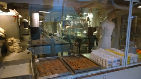 Galley to feed 2500 men