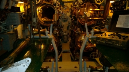 USS Drum forward torpedo bays