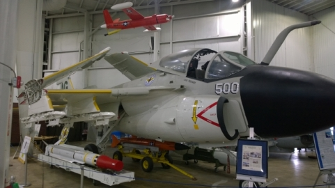 Aircraft on loan from Naval Aviation Museum