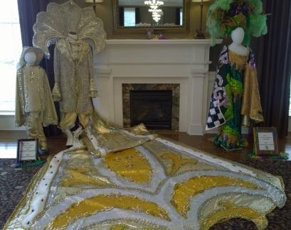 Krewe Mardi Gras costumes