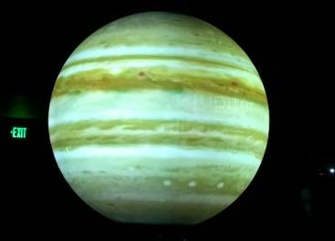 Jupiter projected