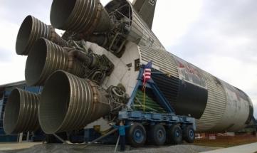 Saturn V Rocket base