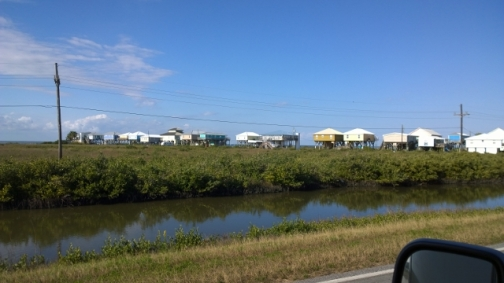Grand Isle stilt houses