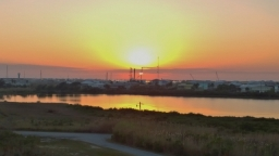 Grand Isle sunset