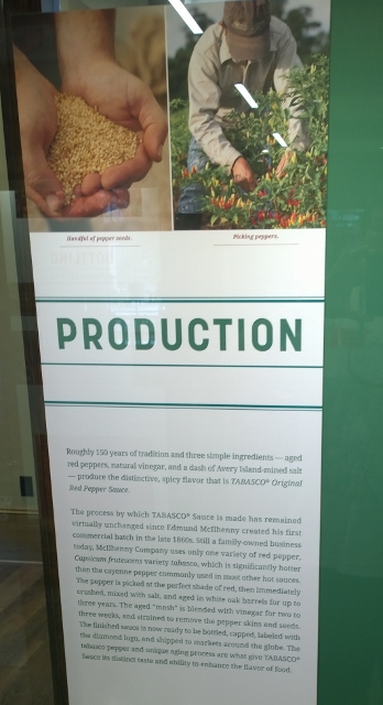 Tabasco Production steps