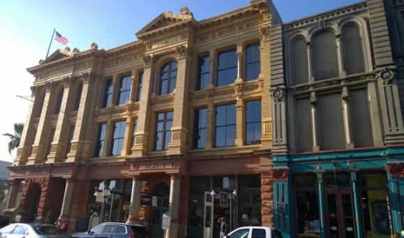 Galveston downtown