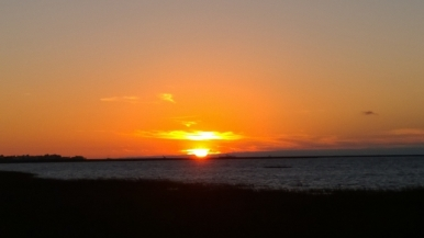 Sunset Galveston Island SP