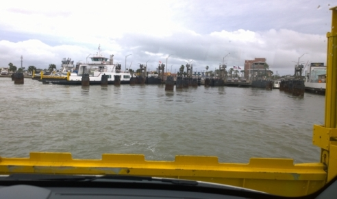 Onboard Port Aransas Ferry