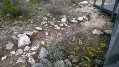 Wickiup Structure rock ring