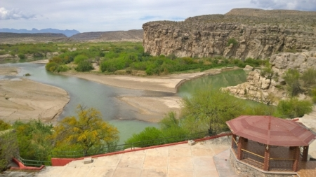 Jose Falcon's view of Rio Grande River