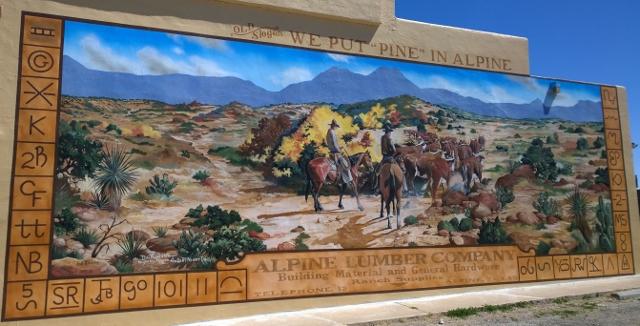 Alpine Murals