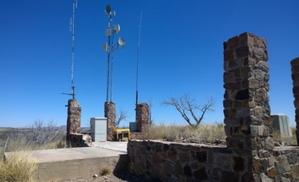 CCC Structure repurposed to cell tower