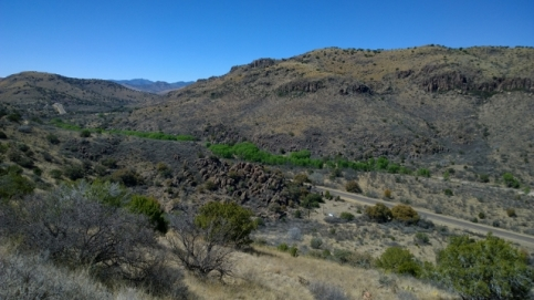 View from Old CCC Trail
