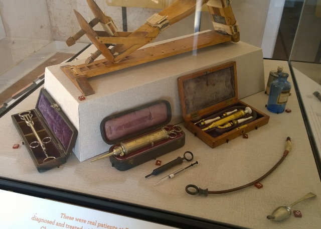 Doctor's implements - yikes!