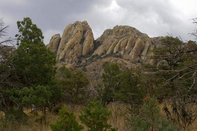 Backside of Sawtooth Mountain