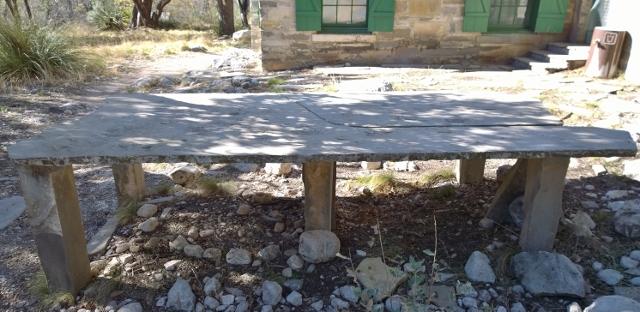 Pratt Cabin table