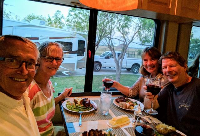 Dinner with Ross & Liz