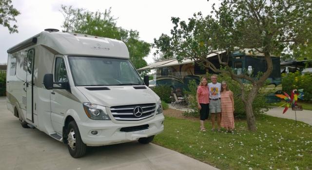 Sharon, Ross, & Liz - Bentsen Palm Village RV Resort