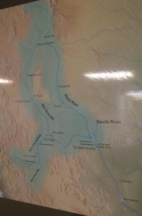 Amistad Dam Watershed