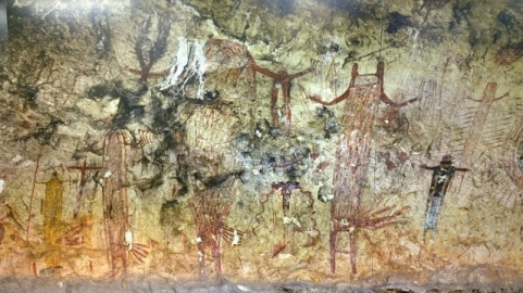 Mural Panther Cave