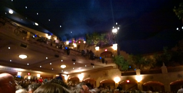 Sorry not in focus, trust me theatre was beautiful