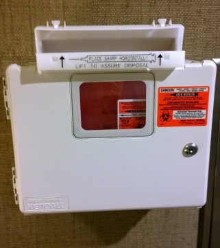 Used Needle Container