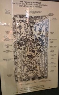 Mayan Astronaut 400-600 AD