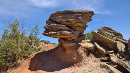 Cool Rocks on Rock Garden Trail