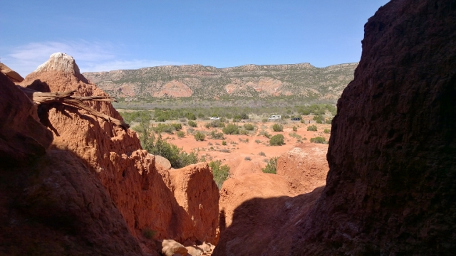 View from The Big Cave