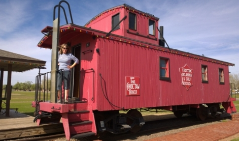 Caboose - Train's Office