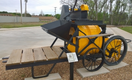 Archer Portable Concrete Mixer used to construct Route 66
