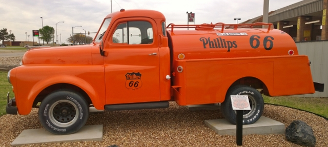 Restored 1948 Dodge Fuel Truck