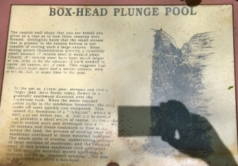Box-Head Plunge Pool