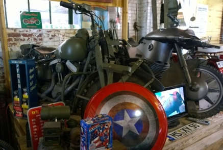 Captain America Movie Motorcycles