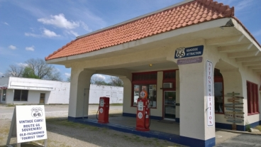 D-X Gas Station