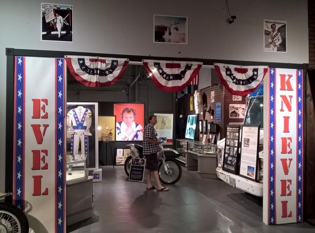 Evel Knievel Exhibit