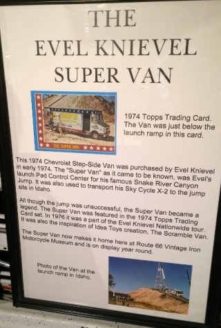 Evel's Super Van for Snake River Canyon jump