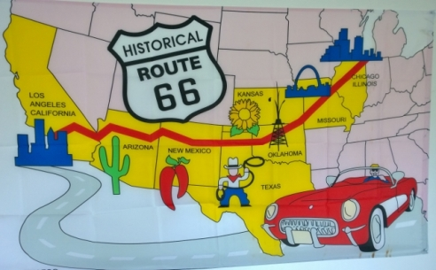 Need to do Route 66 in my 1958 Vette;-)