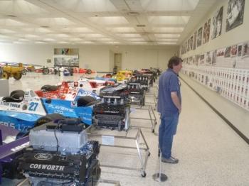 Indy 500 Winner wall