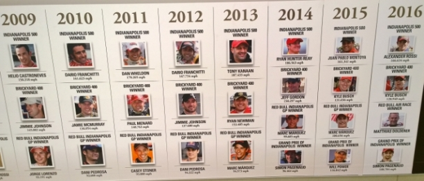 Recent Indy 500 Winners
