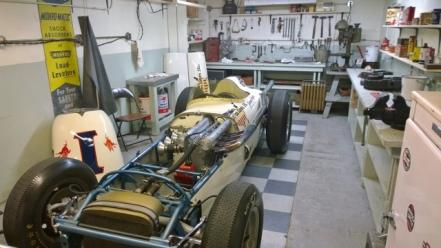 Old style garage