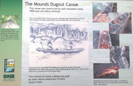How they made the Dugout Canoe