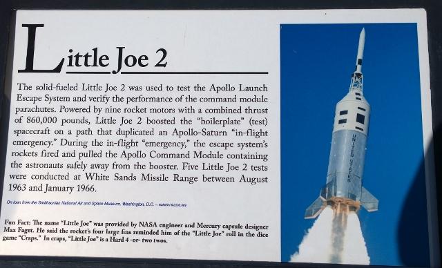Apollo Test Rocket