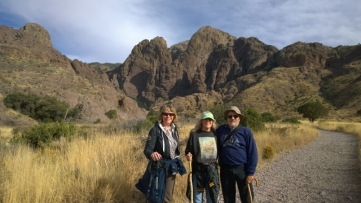 Dripping Springs Trail - Sharon, Becky, Ed