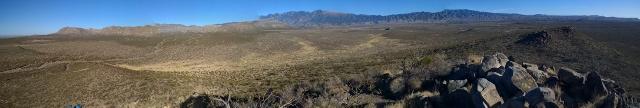 Panoramic View of Sacramento Mountains