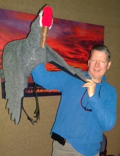 Sandhill Crane Puppet
