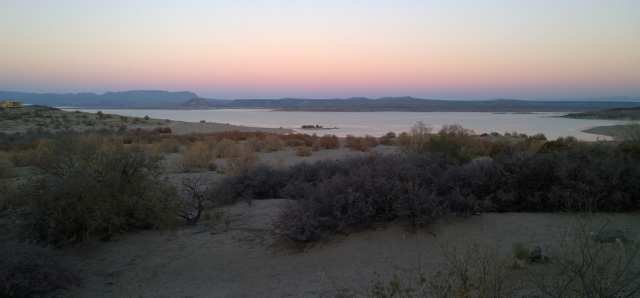 Elephant Butte SP - View from campsite